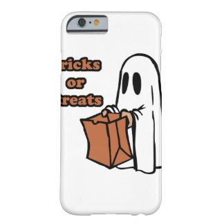 Trick or treat - Boo - cartoon ghost - baby ghost Barely There iPhone 6 Case