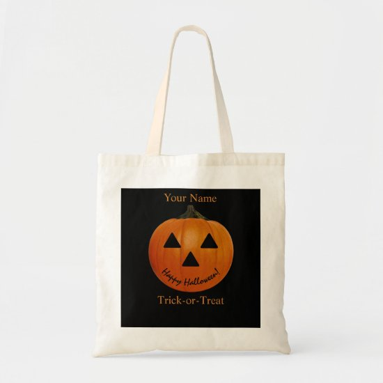 Trick-or-Treat Budget Tote for Halloween Candy