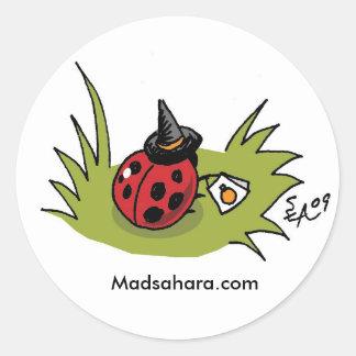 Trick or Treat Bug Sticker