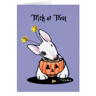 Trick Or Treat Bully Card