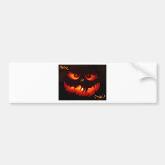 Trick or Treat Bumper Stickers