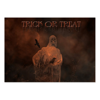Trick Or Treat Business Cards