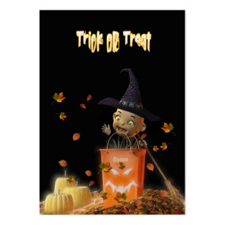 Trick Or Treat Business Card Templates