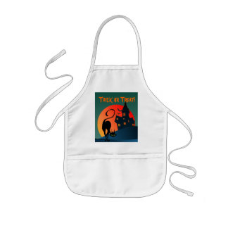 TRICK or TREAT by SHARON SHARPE Kids' Apron