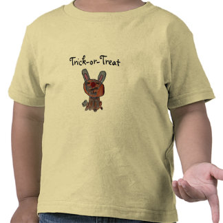 Trick-or-Treat, Calico Cat in Bunny Costume T Shirt