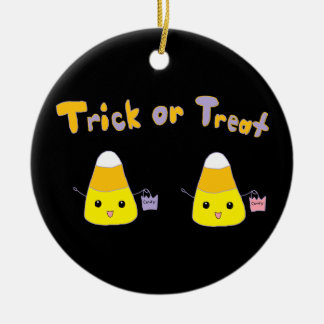 Trick or Treat Candy Corn Ornaments