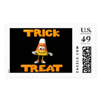 Trick Or Treat Candy Corn Stamps