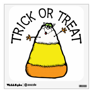 Trick or Treat Candy Corn Wall Decal