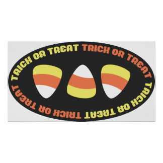 Trick Or Treat Candy Print