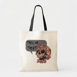 Trick or Treat Candy Skull Bag bag