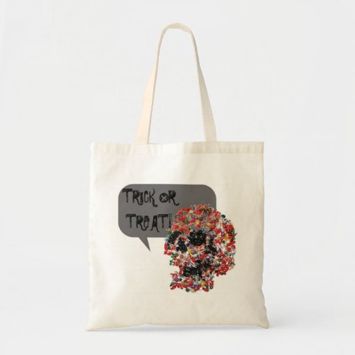 Trick or Treat Candy Skull Bag
