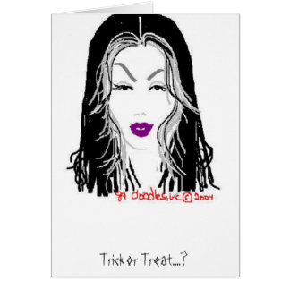 'Trick or Treat' Card