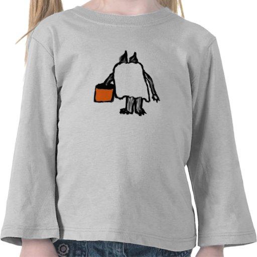 Trick or Treat Cat Shirt