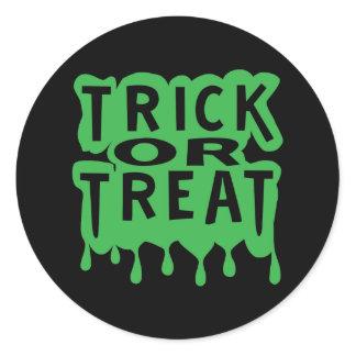 Trick or Treat Classic Round Sticker