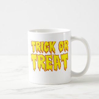 Trick or Treat Classic White Coffee Mug
