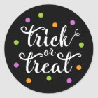 Trick or Treat Confetti | Halloween Stickers