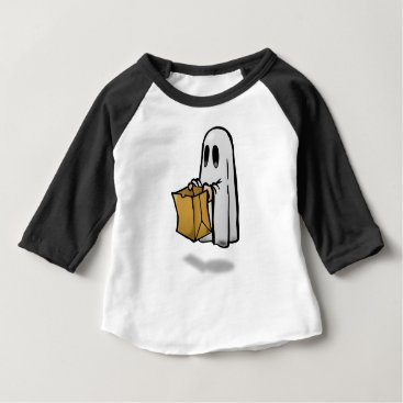 Halloween Themed Trick Or Treat Costume Baby T-Shirt
