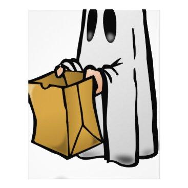 Halloween Themed Trick Or Treat Costume Letterhead