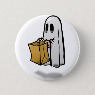 Halloween Themed Trick Or Treat Costume Pinback Button