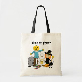 Trick or Treat Costumes - Halloween Candy Swag Bag bag