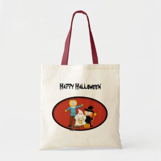 Trick or Treat Costumes - Photo Template Candy Bag bag