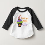 Trick or Treat Cupcake Custom T-Shirt