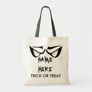 TRICK OR TREAT Custom Halloween Candy Bag