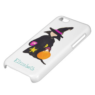 Trick or Treat Custom Name Halloween Toddler Witch iPhone 5C Cover