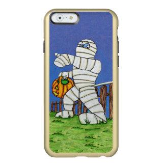 Trick or Treat Cute Cartoon Mummy Halloween Incipio Feather® Shine iPhone 6 Case