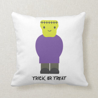 Trick or Treat- Cute Frankenstein Pillow