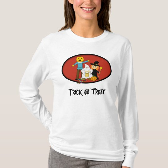 Trick or Treat Cute Halloween Cosplay T-Shirt
