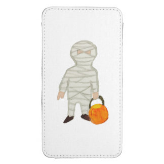 Trick or Treat Cute Halloween Toddler Mummy Zombie Galaxy S4 Pouch
