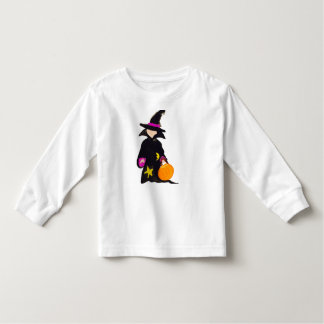 Trick or Treat Cute Halloween Toddler Witch Toddler T-shirt