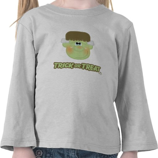 Trick or Treat Cute Monster Tshirts
