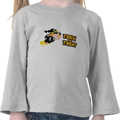 Trick or Treat Cute Witch T Shirts