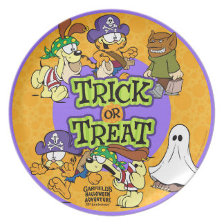 Trick-or-Treat Dinner Plate