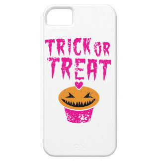 Trick or Treat distressed version with cupcake iPhone SE/5/5s Case