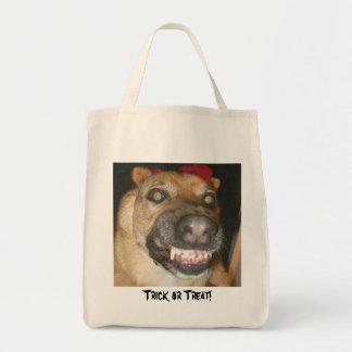 Trick or Treat Dog! Tote Bag