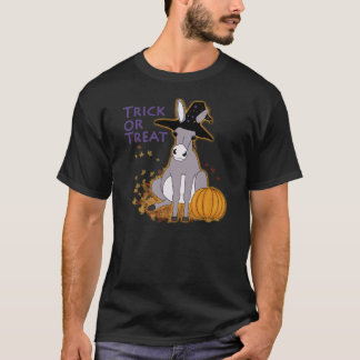 Trick or Treat Donkey T-Shirt