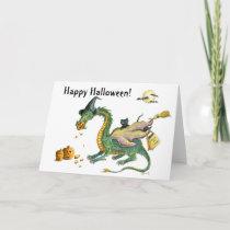 Trick or Treat Dragon card