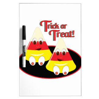 Trick Or Treat Dry-Erase Whiteboards