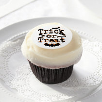 trick or treat edible frosting rounds