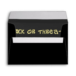 Trick or Treat  Envelope