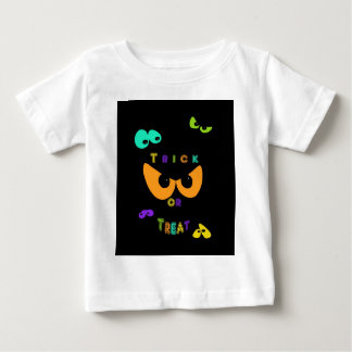 Trick Or Treat Eyes Baby T-Shirt