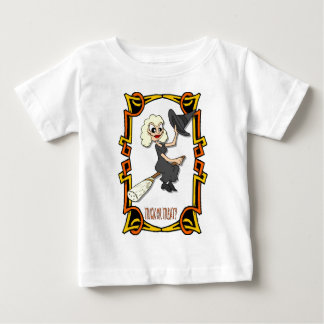 Trick or treat for Halloween Baby T-Shirt