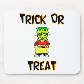 Trick Or Treat (Frankenstein Mask) Mouse Pad