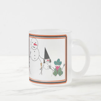 Trick or Treat From the Halloween Snowmen Mugs