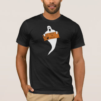 Trick or Treat Ghost Halloween Drawing T-Shirt