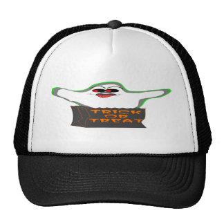 Trick-or-Treat Ghost Trucker Hat