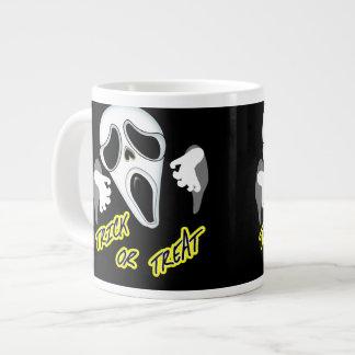Trick Or Treat Ghostly Halloween Fun Graphic Giant Coffee Mug